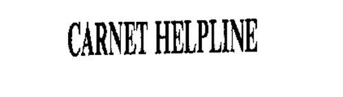 CARNET HELPLINE