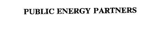 PUBLIC ENERGY PARTNERS