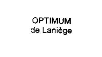 OPTIMUM DE LANIEGE
