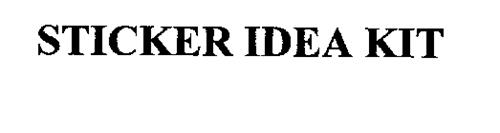 STICKER IDEA KIT