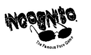 INCOGNITO THE FAMOUS FACE GAME