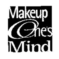 MAKEUP ONE'S MIND