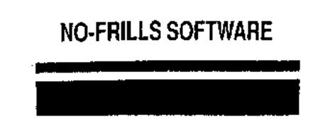 NO-FRILLS SOFTWARE