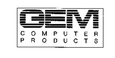 GEM COMPUTER PRODUCTS