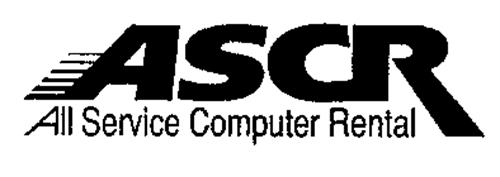ASCR ALL SERVICE COMPUTER RENTAL