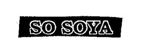 SO SOYA