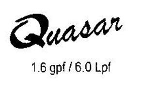 QUASAR 1.6 GPF / 6.0 LPF