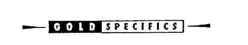 GOLD SPECIFICS
