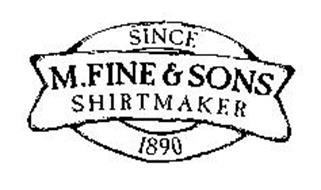 M.FINE & SONS SHIRTMAKER SINCE 1890