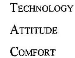 TECHNOLOGY ATTITUDE COMFORT