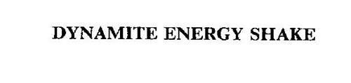DYNAMITE ENERGY SHAKE