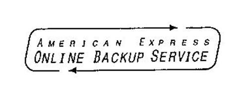 AMERICAN EXPRESS ONLINE BACKUP SERVICE