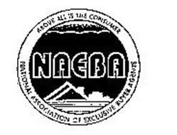 NAEBA ABOVE ALL IS THE CONSUMER NATIONAL ASSOCIATION OF EXCLUSIVE BUYER AGENTS