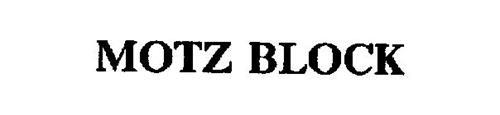 MOTZ BLOCK