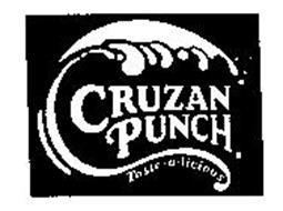 CRUZAN PUNCH. TASTE-A-LICIOUS