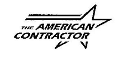THE AMERICAN CONTRACTOR