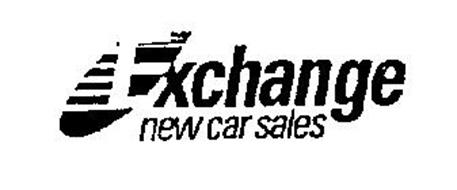 EXCHANGE NEW CAR SALES