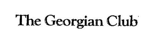 THE GEORGIAN CLUB