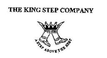 THE KING STEP COMPANY A STEP ABOVE THE REST