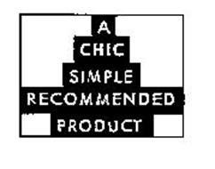A CHIC SIMPLE RECOMMENDED PRODUCT
