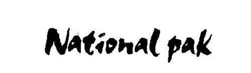 NATIONAL PAK