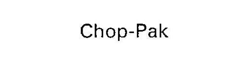 CHOP-PAK