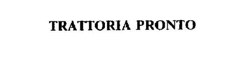 TRATTORIA PRONTO