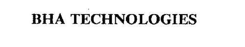 BHA TECHNOLOGIES