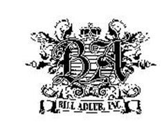 BA BILL ADLER, INC.