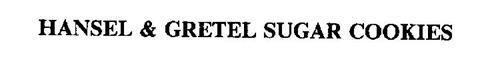 HANSEL & GRETEL SUGAR COOKIES