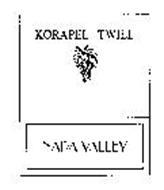 KORAPEL TWILL NAPA VALLEY