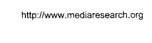 HTTP://WWW.MEDIARESEARCH.ORG