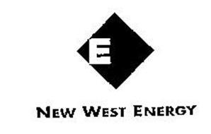 E NEW WEST ENERGY