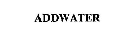 ADDWATER