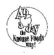 AN A DAY THE KNOUSE FOODS WAY!