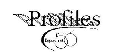 PROFILES DEPARTMENT 56