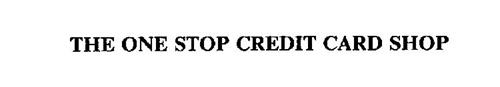 THE ONE STOP CREDIT CARD SHOP