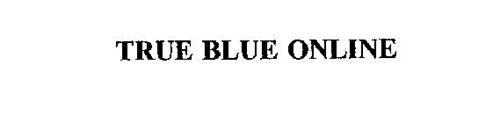 TRUE BLUE ONLINE