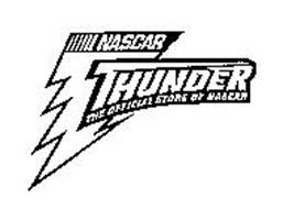NASCAR THUNDER THE OFFICIAL STORE OF NASCAR