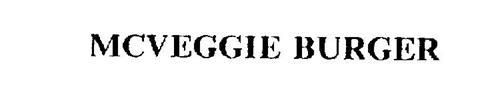 MCVEGGIE BURGER