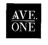 AVE. ONE
