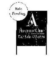 SALE PENDING A AVENUEONE FOR SALE 472-3336