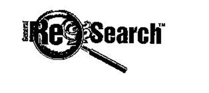 GENERAL RE SEARCH