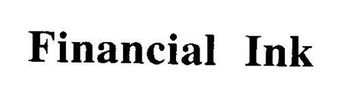 FINANCIAL INK