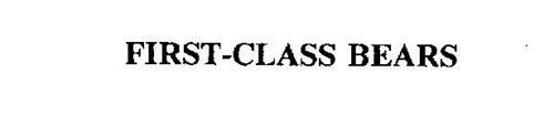FIRST-CLASS BEARS