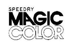 SPEEDRY MAGIC COLOR
