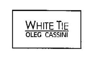WHITE TIE OLEG CASSINI