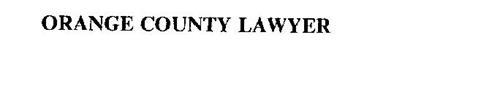 ORANGE COUNTY LAWYER