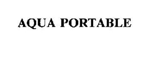 AQUA PORTABLE