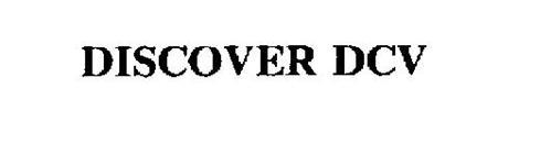 DISCOVER DCV